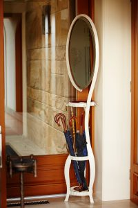 Meubles-miroirs-fer-forgé