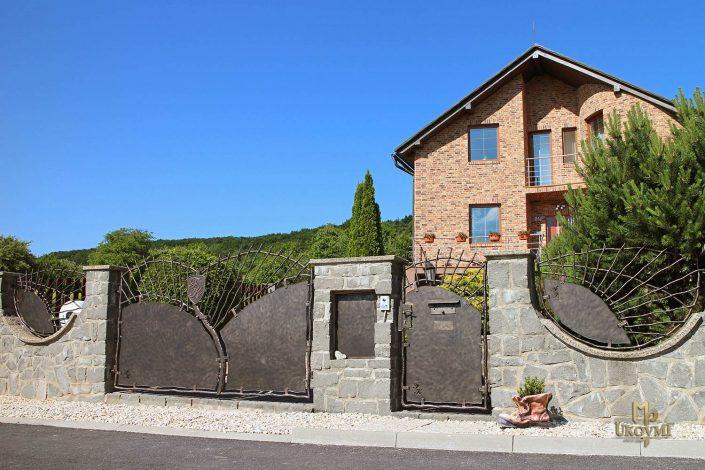 Portails et clôtures en fer forgé