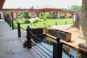 Meubles de jardin en fer forgé - terrasse