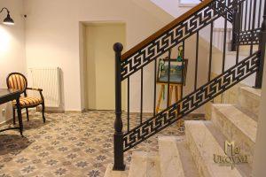Garde corps d'intérieur en fer forgé - Escalier- Balustrade